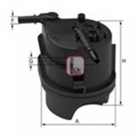 Filtro gasolio per ford citroen peugeot 1 4 hdi cod sofima for Filtro per cabina di fusione ford